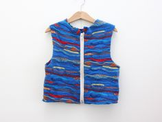 Recycled Wool Top with Zip by Cobbled Together