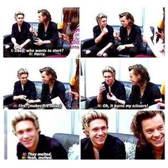 Narry interviews are what I live for ❥