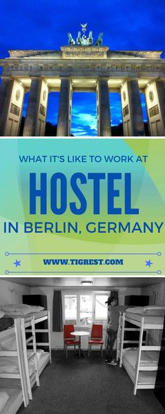 This is a story of me working at Berlin hostel back in 2006. These were crazy times. Berlin was amazing and it was FIFA world cup!: