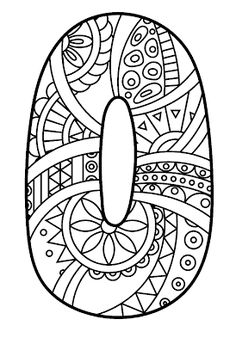 natur animals Number 0 Zentangle coloring page from Zentangle Numbers category. Select from 27556 printable crafts of cartoons, nature, animals, Bible and many more. Free Printable Coloring Pages, Coloring Book Pages, Coloring Pages For Kids, Coloring Sheets, Printable Numbers, Printable Crafts, Printables, Zentangle Patterns, Zentangles