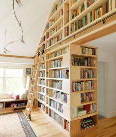 15 lélegzetelállító könyvespolc, ami azonnal meghozza a kedved az olvasáshoz