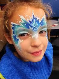 frozen face painting ile ilgili görsel sonucu