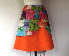 Stella double layer skirt Sz 12 by LoveToLoveYou on Etsy