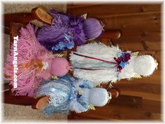 Yarn Angels by Pat Yehle #yarnangels #angels #yarn at http://www.YarnAngels.com
