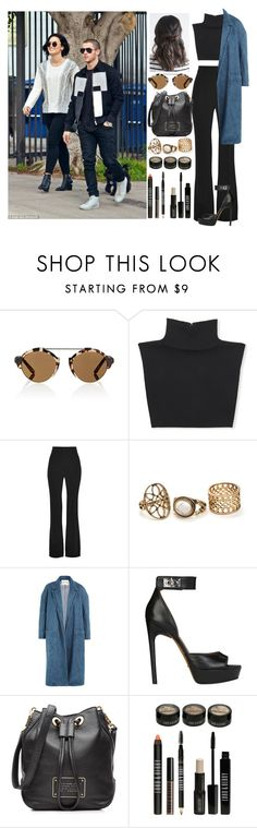 """Day out in L.A with Demi and Nick"" by zandramalik ❤ liked on Polyvore featuring Illesteva, Michael Kors, Cushnie Et Ochs, Sandy Liang, Givenchy, Marc by Marc Jacobs and Lord & Berry"