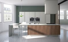 Fitted kitchens | Kitchen systems | Emetrica | Ernestomeda. Check it out on Architonic