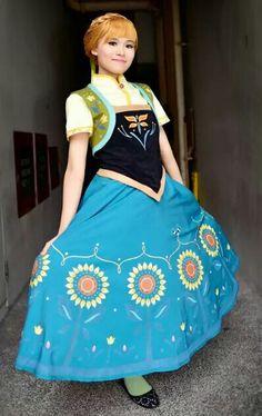 anna  # frozen cosplay