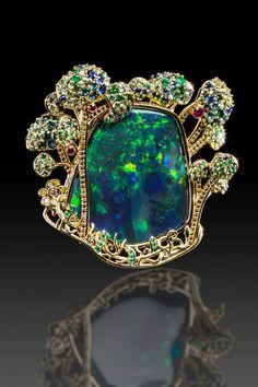 Garden of Eden by Llyn Strong  opal