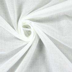 Etamin Liso 2 - Polyester - Baumwolle - wollweiss