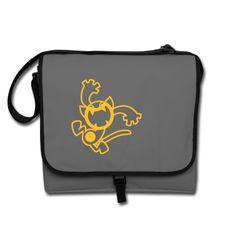 Groovy Cartoon Cat by Cheerful Madness!! Bags #spreadshirt #bags #cat #cartoon #flex #flock #tshirts