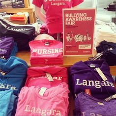 #PinkShirtDay is tomorrow Wednesday Feb 26th!  @Langara College supports this day to put a stop to bullying.  #ShareYourSpirit