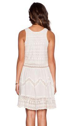 KAS New York Amira Mini Dress em Marfim | REVOLVE