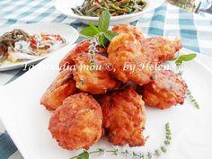 Τα ταξίδια μου : Τοματοκεφτέδες - Tomatoes Fritters