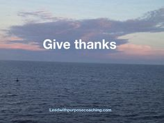 Gratitude is the first step to fulfillment