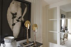 Modern Entry and Hall in Paris, FR by Thomas Pheasant Interiors