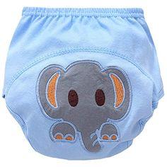 2017 Nouveaux pantalons anti-fuites,Baby Toddler Cute 4 Layers Potty Training Pants r/éutilisable