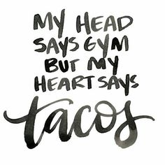 """116 Likes, 10 Comments - Healthy FoodActiveInspiration (@1minutewellness) on Instagram: """"@seashore_bikinis - Let's TACO about it! Dilemma of the day.. #funny#true#struggle"""""""