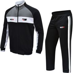 RDX men tracksuit is made using non-piling Polyestic™ material with rough layer on the inner and a quick drying outer layer. Incorporating a mini- Zippex™ the suit has a T3 stitching for resilience. The RDX®