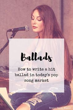 Slow songs aren't big hits today like they were in the 90s, but you can still write a great one!