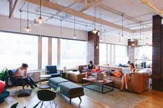 WeWork's Dupont Circle coworking space