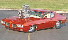Pin 1967 Pontiac Gto Fiat 500 Race Car Chieftain Honda Ek 4 Door Cake ...