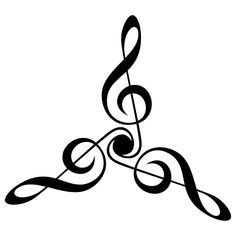 treble clef triangle by 10binary on deviantART