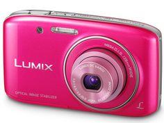 Appareil Photo Numérique Lumix DMC-S2-EF - Rose