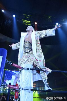 Japanese Wrestling, Japan Pro Wrestling, Kazuchika Okada, Professional Wrestling, Champion, The Past, 4 Life, Yahoo, Rock
