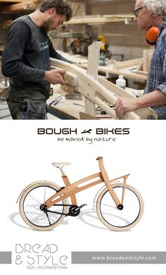 Bough Bike! La prima bici in legno artigianale in Italia. Su: www.breadandstyle.com bici#bicicletta#bici di legno#wood bike#ciclismo#fixed bike#