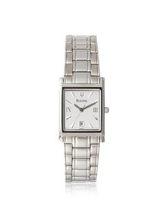 Women's Wrist Watches - Bulova White Dial Stainless Steel Ladies Watch 96M105 >>> Want additional info? Click on the image.