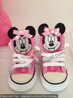 custom converse sneakers by Jadassparkle on Etsy, $80.00 Bling Converse, Baby Converse, Custom Converse, Converse Sneakers, Custom Shoes, Bling Baby Shoes, Bedazzled Shoes, Girl 2nd Birthday, Birthday Ideas