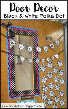 Welcome Classroom Door Decor