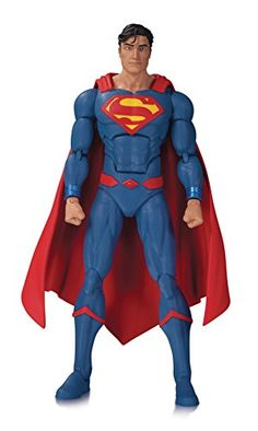 DC Collectibles Icons: Superman Rebirth Action Figure: As seen in the DC rebirth: Justice League action figure the Man of steel is back in a new solo action figure featuring his appearance in DC's smash-hit rebirth titles! Justice League Action Figures, Dc Comics Action Figures, Figurines D'action, Superman Action Figure, Dc Icons, Midtown Comics, Dc Rebirth, Batman