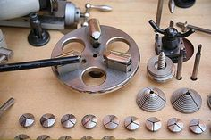 Bergeon Lathes - Watchmakers Lathe Face Plate