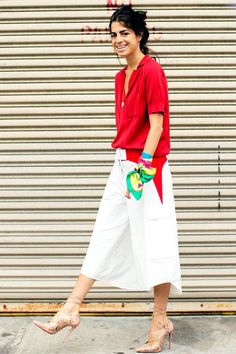 5 ways to wear culottes, courtesy of these gorgeous #OOTDs