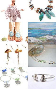 Beach Inspired by EarthlyBaubles on Etsy--Pinned with TreasuryPin.com