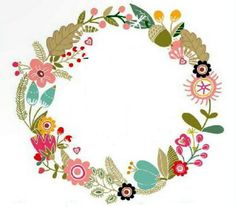 Bloom Fashion, Botanical Line Drawing, Diy And Crafts, Paper Crafts, Wreath Drawing, Scandinavian Folk Art, Flower Graphic, Flower Bag, Frame Template