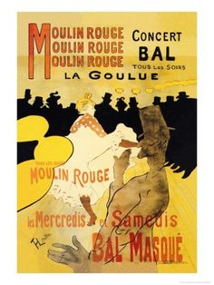 Moulin Rouge Concerts Premium Poster