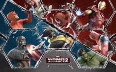 Marvel: Ultimate Alliance 2 wallpaper 1080p high quality by Langdon Ross (2016-07-13)