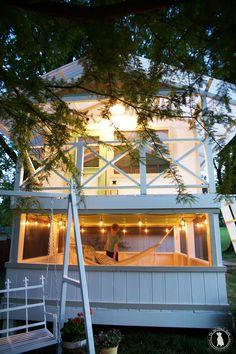 Handmade Hideaway for big kids - the Handmade Home