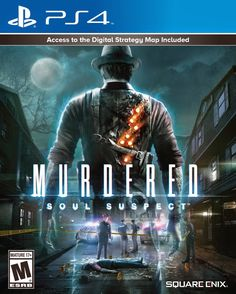 Murdered-Soul-Suspect-On-PS4-PS3-Is-Out-Today  The mystery crime drama Murdered: Soul Suspect is official out today and available to buy on PS4 and PS3.  #PS4Games #MurderedSoulSuspect