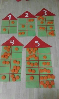 … Mehr zu Mathematik und Lernen im Allgemeinen unt… Kindergarten Math Activities, Preschool Math, Math Classroom, Math Resources, Math Games, Teaching Math, Teaching Numbers, Numbers Kindergarten, Numbers Preschool
