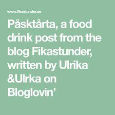 Påsktårta, a food drink post from the blog Fikastunder, written by Ulrika &Ulrka on Bloglovin'