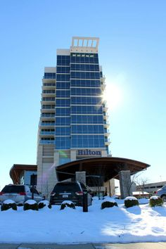 The Hilton Convention Center in downtown Branson. http://bransonticket.com/products/hotels-motels/hilton-branson-convention-center-hotel