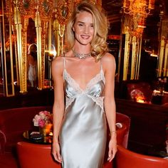 Only Rosie Huntington-Whiteley Could Make A Nightie Look This Chic | InStyle UK