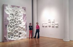 Michael Kukla   Insula and Way,Shape or Form, Installation art at Tenri Gallery, New York.