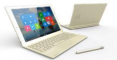 Toshiba DynaPad – dispozitiv 2-1 care rulează Windows 10 și are un stylus inclus