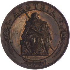Kaiserreich Österreich. Franz Joseph I. 1848 - 1916 AE Medaille o.J. Bronze Med. Radnitzky, Ehrenpreis der Landwirtschaftsgesellschaft in Wien