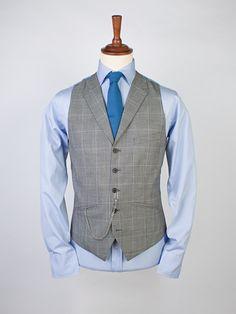 e2c2cc7921c1e9 Prince of Wales Waistcoat - Tartan Waistcoats - Waistcoats - Peter Christian