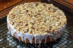 Almond Honey Cake prep 16